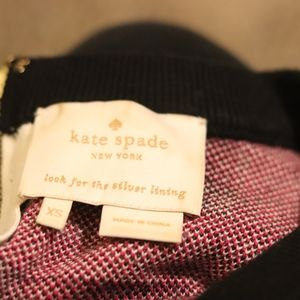 kate spade Dresses - Kate Spade | holiday knit checker 70s dress EUC